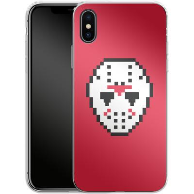 Apple iPhone X Silikon Handyhuelle - Jason von caseable Designs