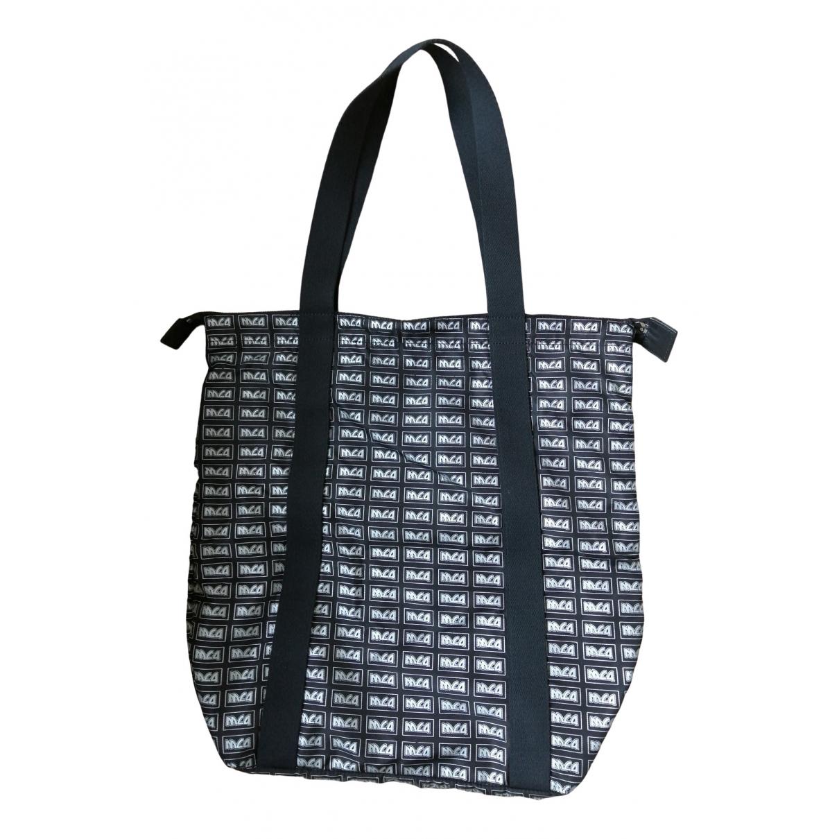 Mcq \N Black Cloth handbag for Women \N