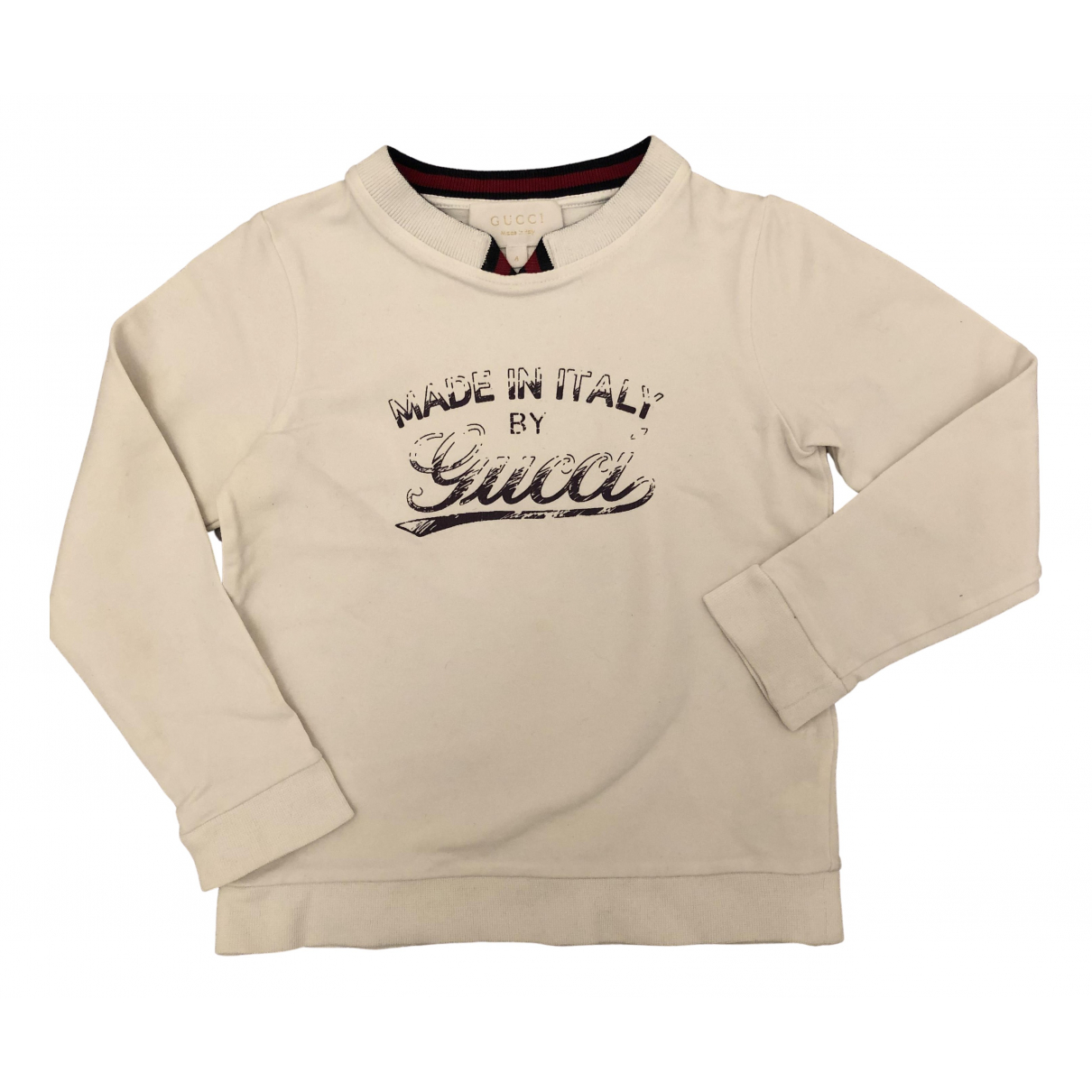 Gucci N White Cotton Knitwear for Kids 4 years - up to 102cm FR