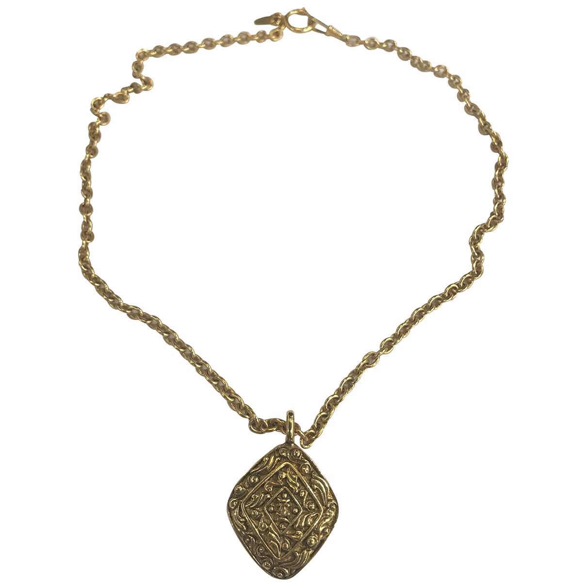 Chanel - Pendentif   pour femme en plaque or - dore