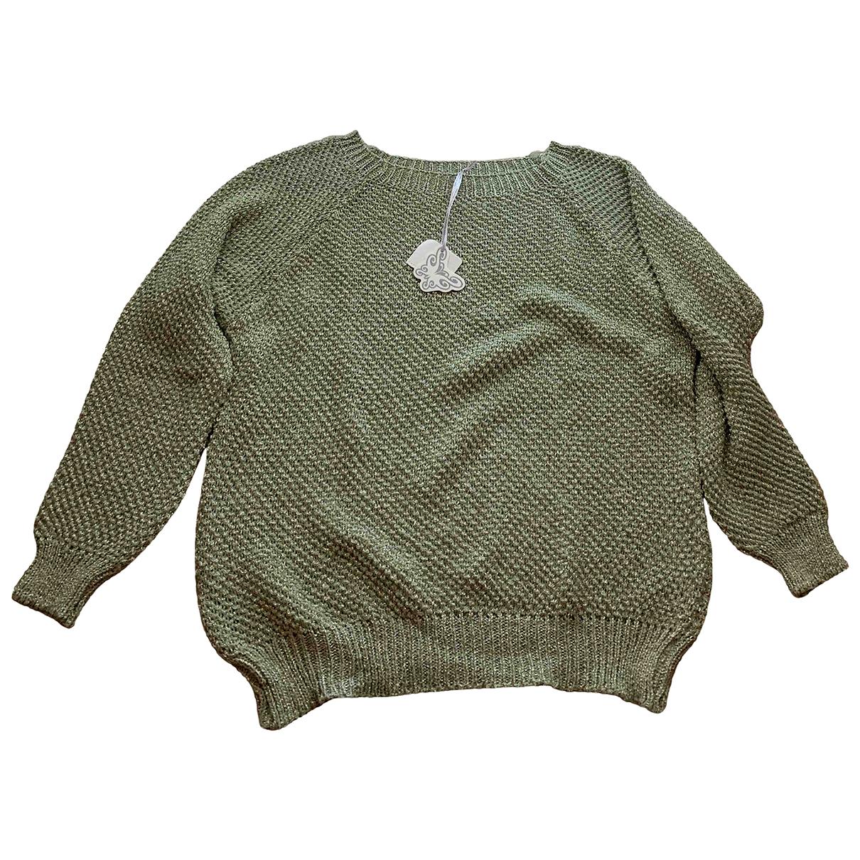 - Pull Oversize pour femme - vert