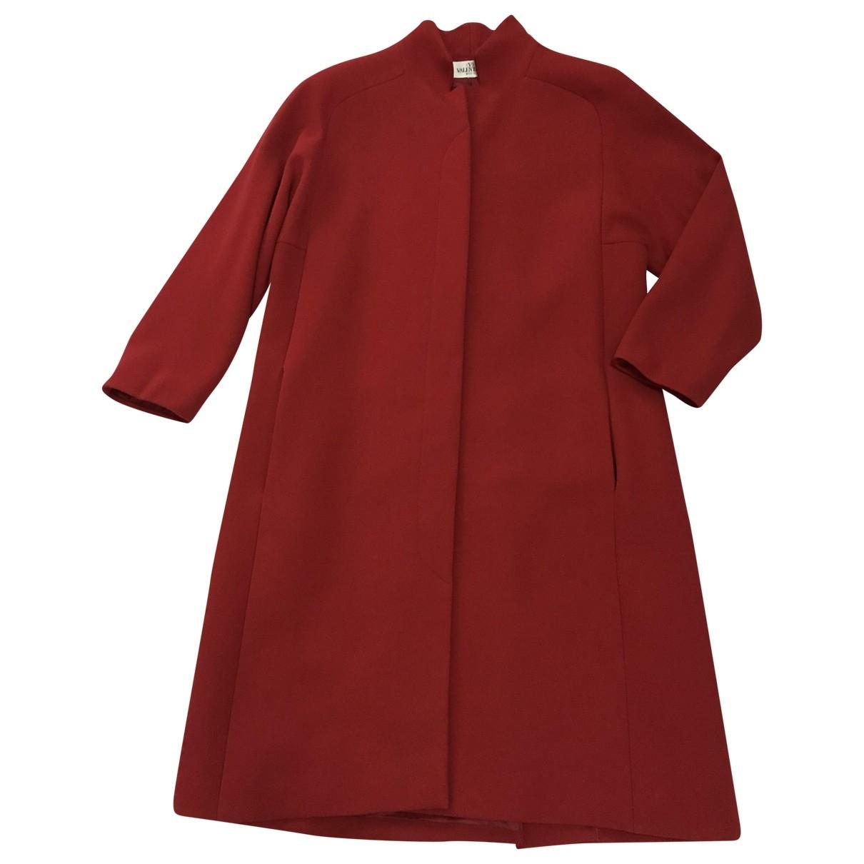 Valentino Garavani \N Red Wool coat for Women L International
