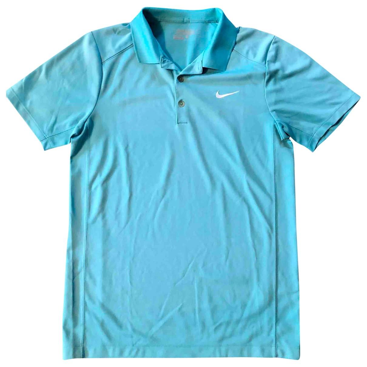 Nike \N Poloshirts in  Tuerkis Polyester