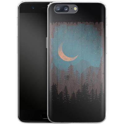 OnePlus 5 Silikon Handyhuelle - Those Summer Nights von ND Tank
