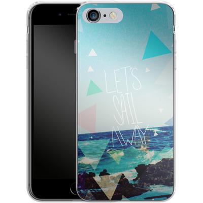 Apple iPhone 6 Plus Silikon Handyhuelle - Lets Sail Away von Leah Flores