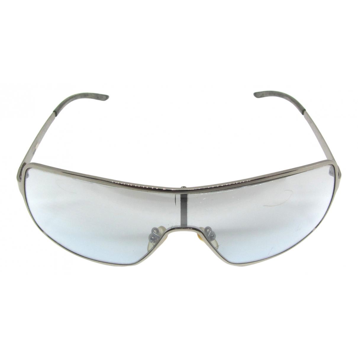 Yves Saint Laurent \N Sonnenbrillen in  Blau Metall