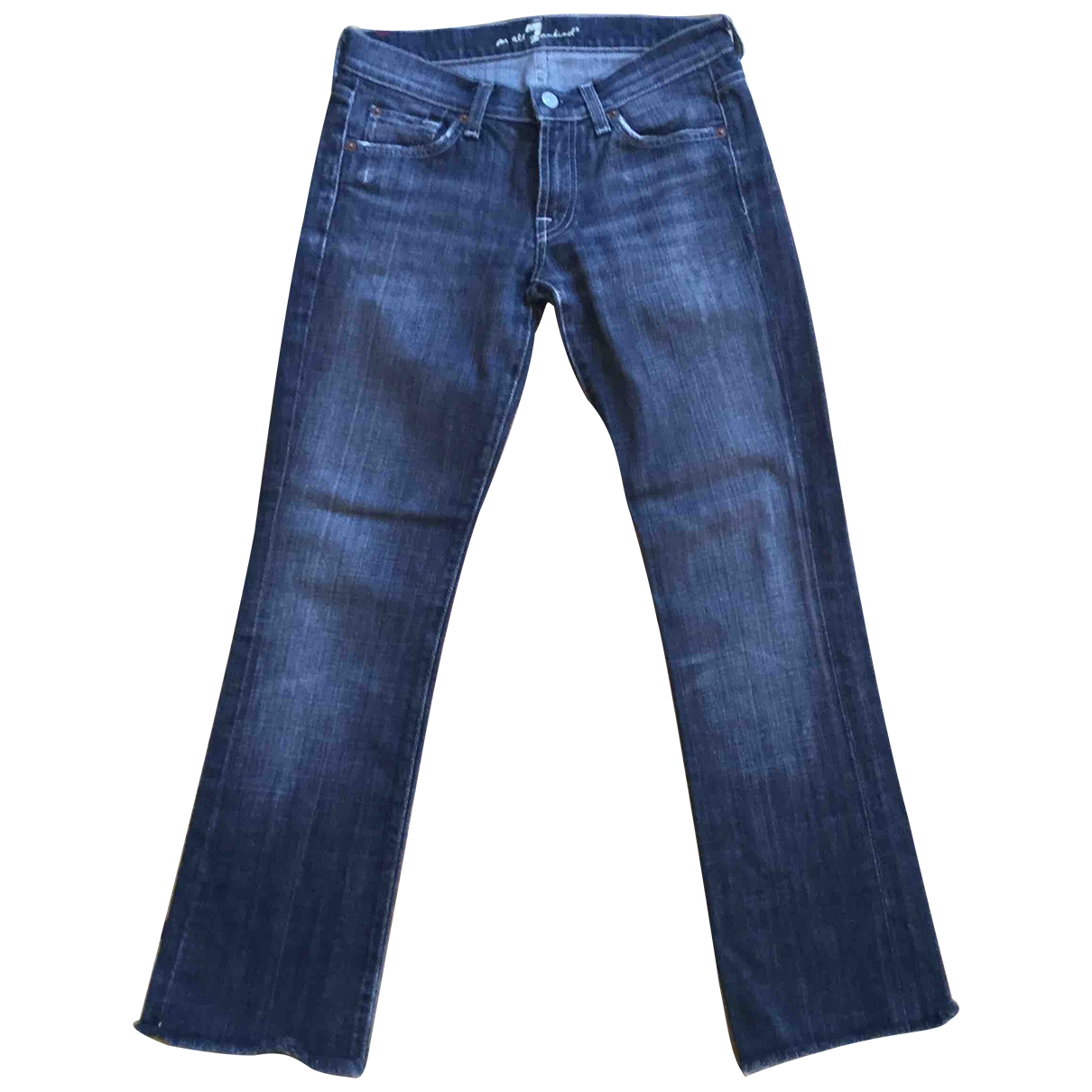 7 For All Mankind \N Grey Denim - Jeans Jeans for Women 27 US