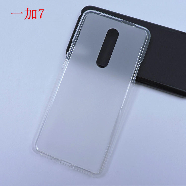 Bakeey Ultra-thin Pudding Soft TPU Protective Case For OnePlus 7
