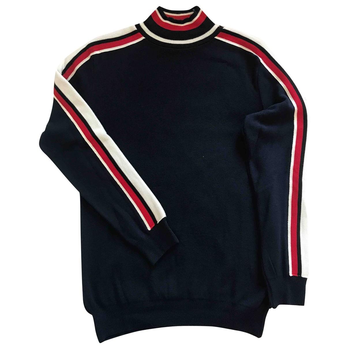 Non Signé / Unsigned \N Blue Knitwear & Sweatshirts for Men S International