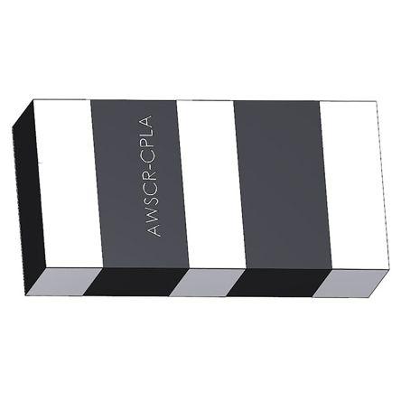 Abracon AWSCR-3.68CPLA-C30-T4, Ceramic Resonator, 3.68MHz 30pF, 3-Pin SMD, 6 x 3 x 1.5mm (4000)