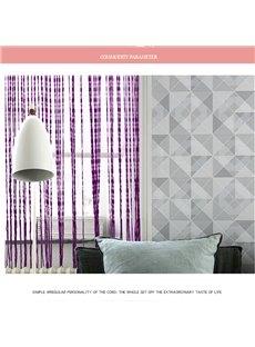 Lace Multicolor Tassel String Sheer Curtain Room Divider