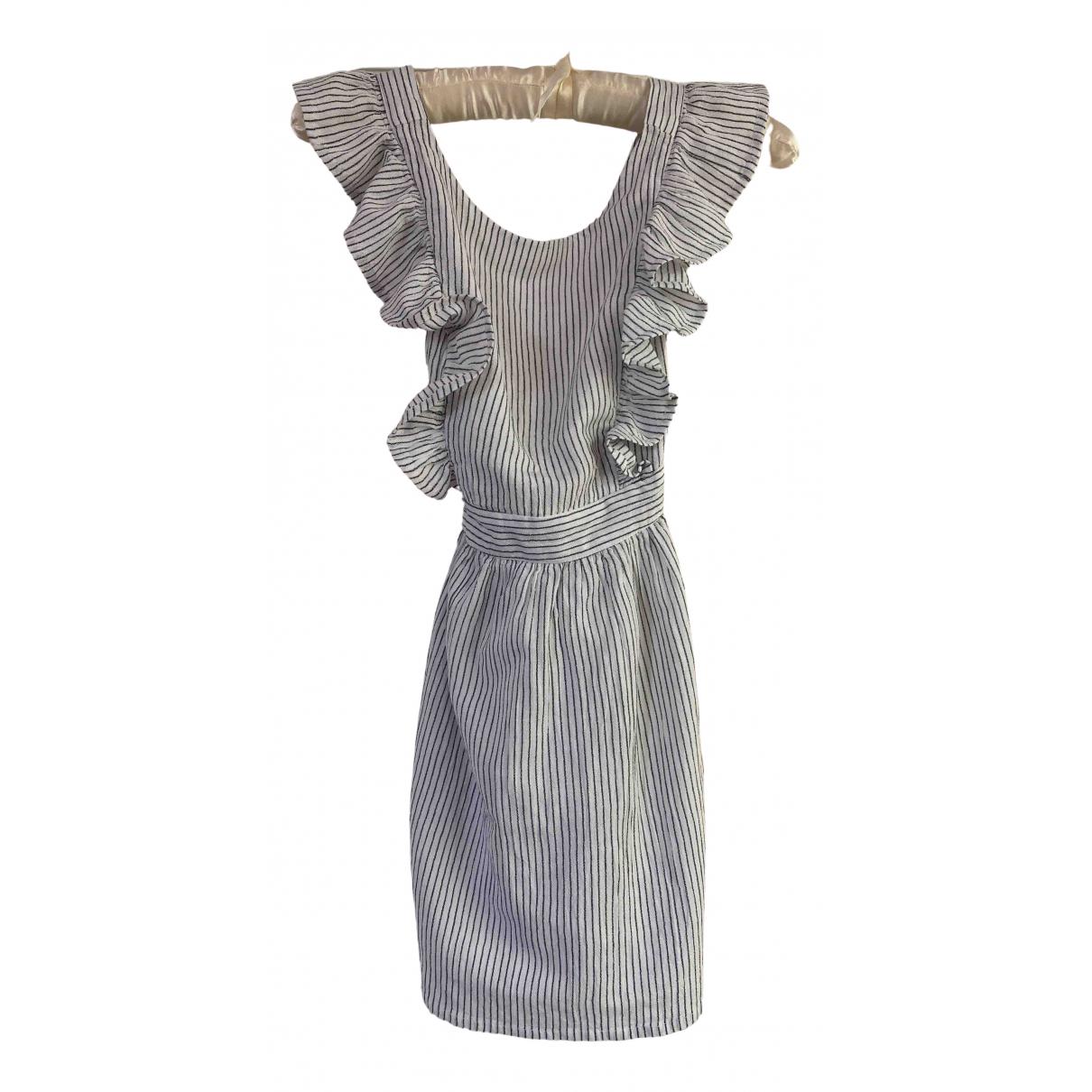 Cyrillus - Robe    pour enfant en coton - blanc