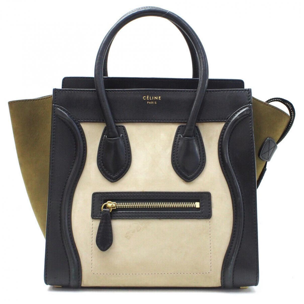 Celine N Leather handbag for Women N