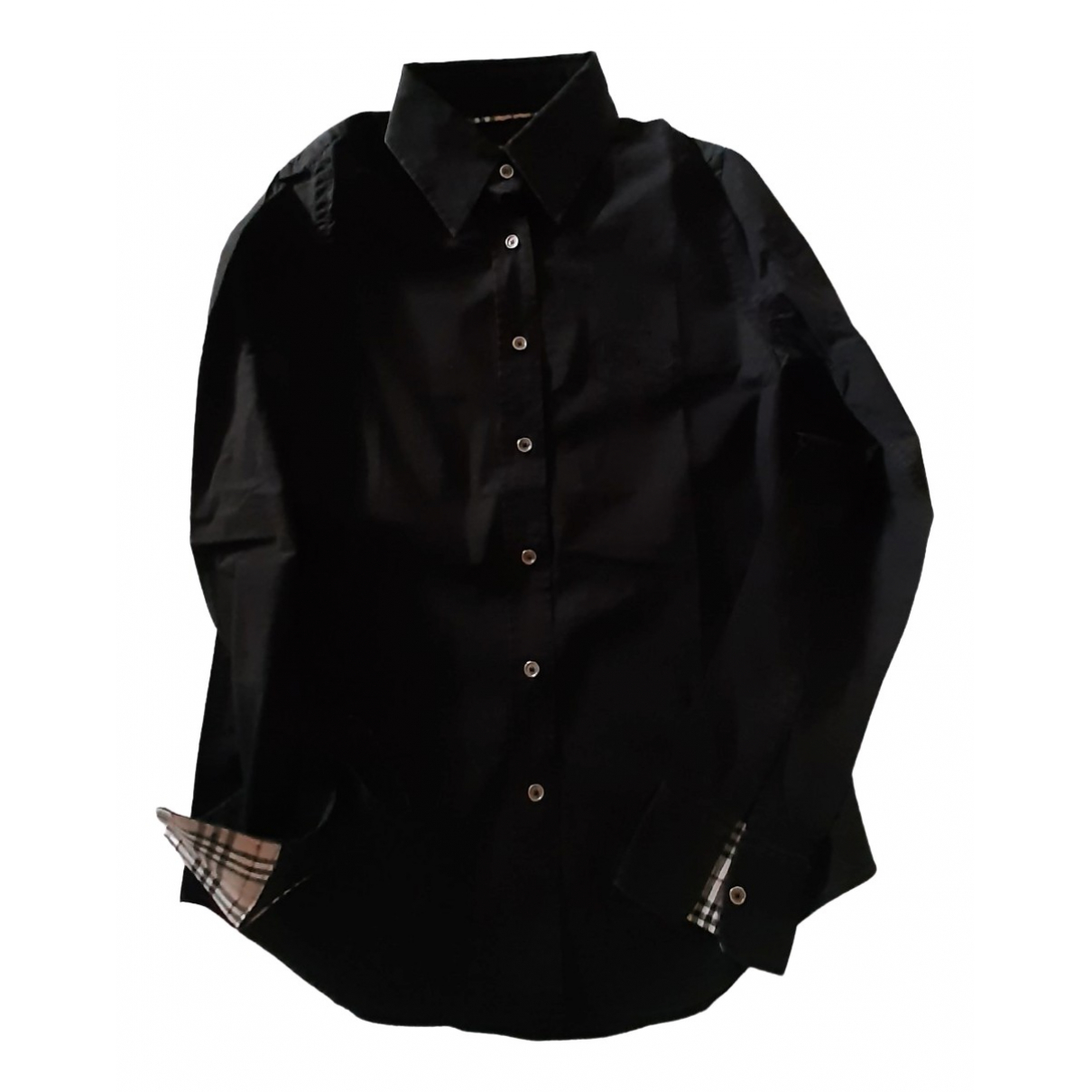 Burberry \N Black Cotton  top for Women XS International