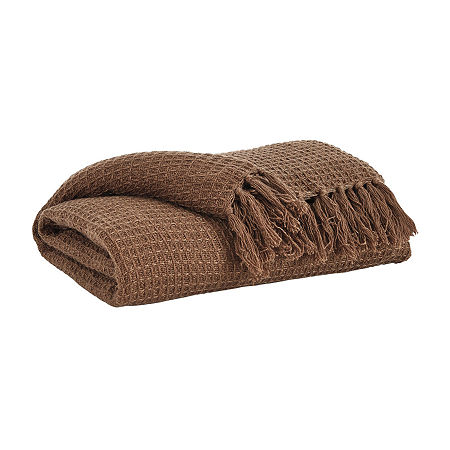 Signature Design by Ashley Rowena Lightweight Throw, One Size , Brown