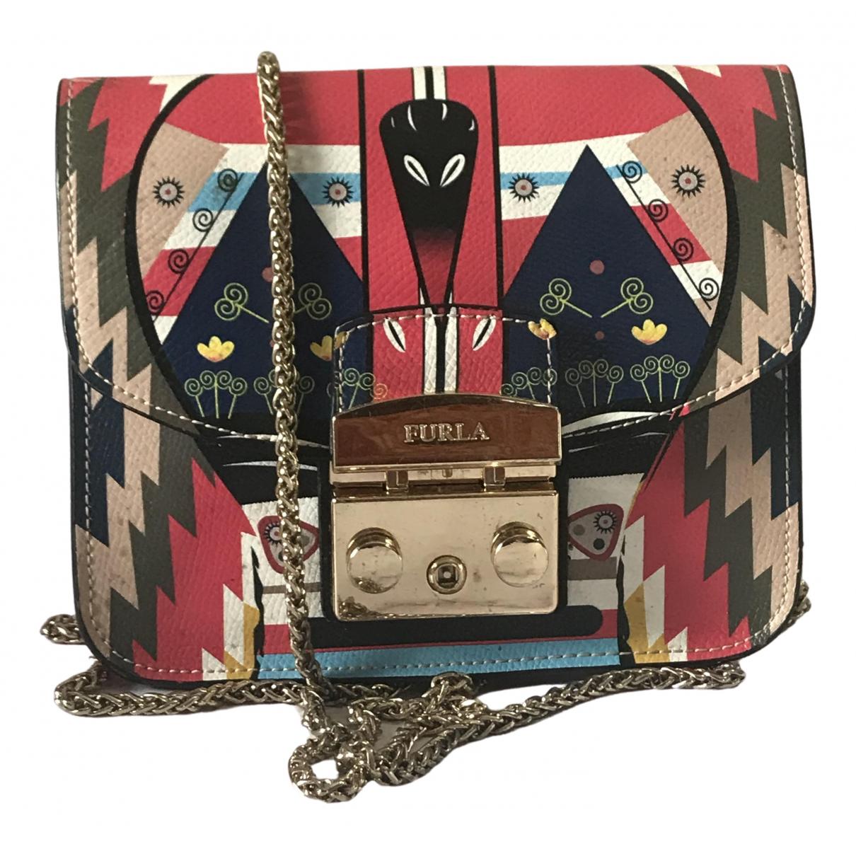 Furla Metropolis Multicolour Leather handbag for Women \N
