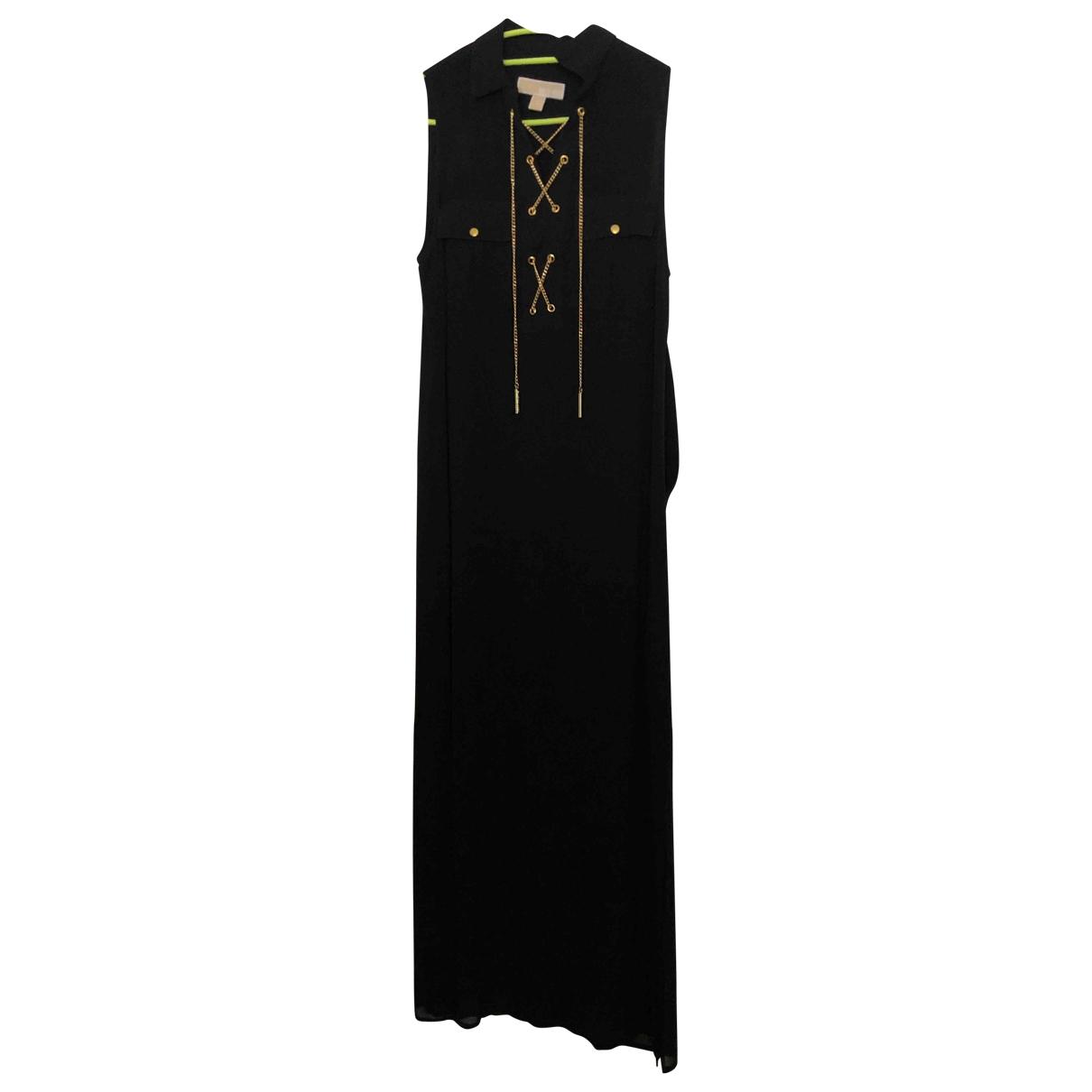 Michael Kors \N Kleid in  Schwarz Baumwolle - Elasthan