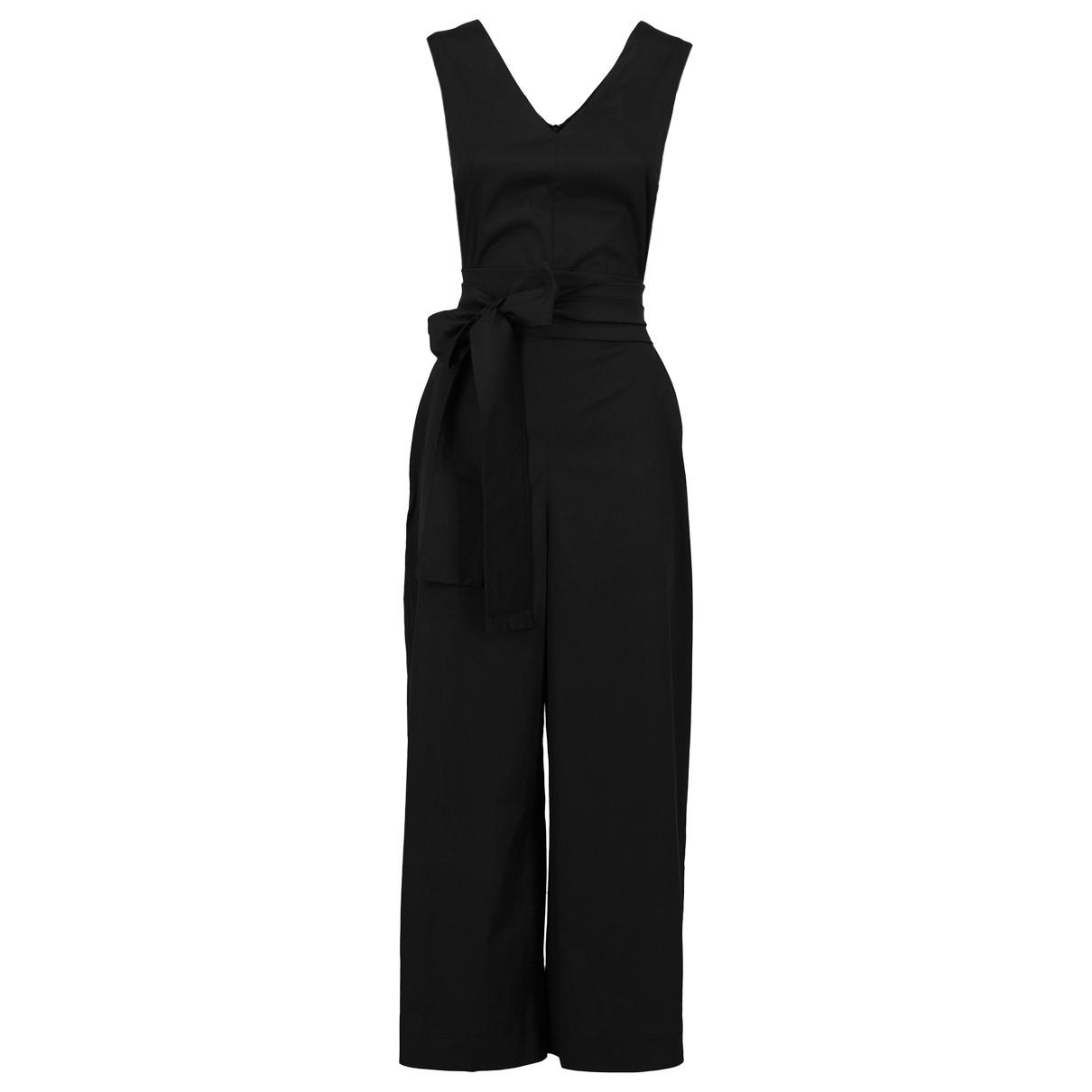 Max Mara s - Combinaison   pour femme en coton - noir