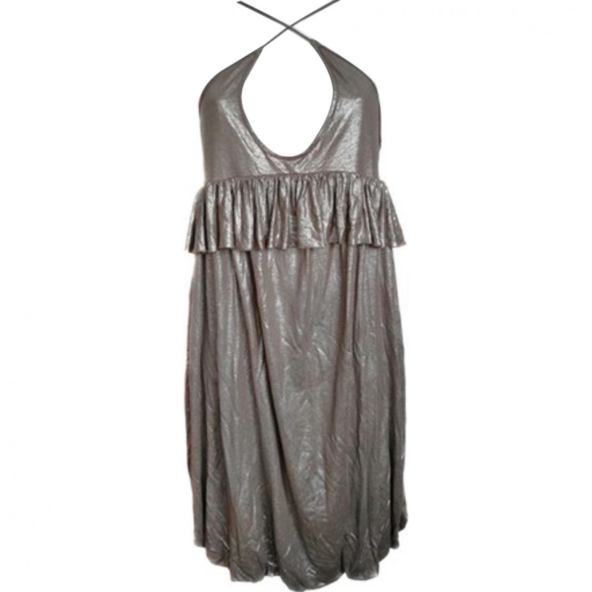 Stella Mccartney - Robe   pour femme - metallise