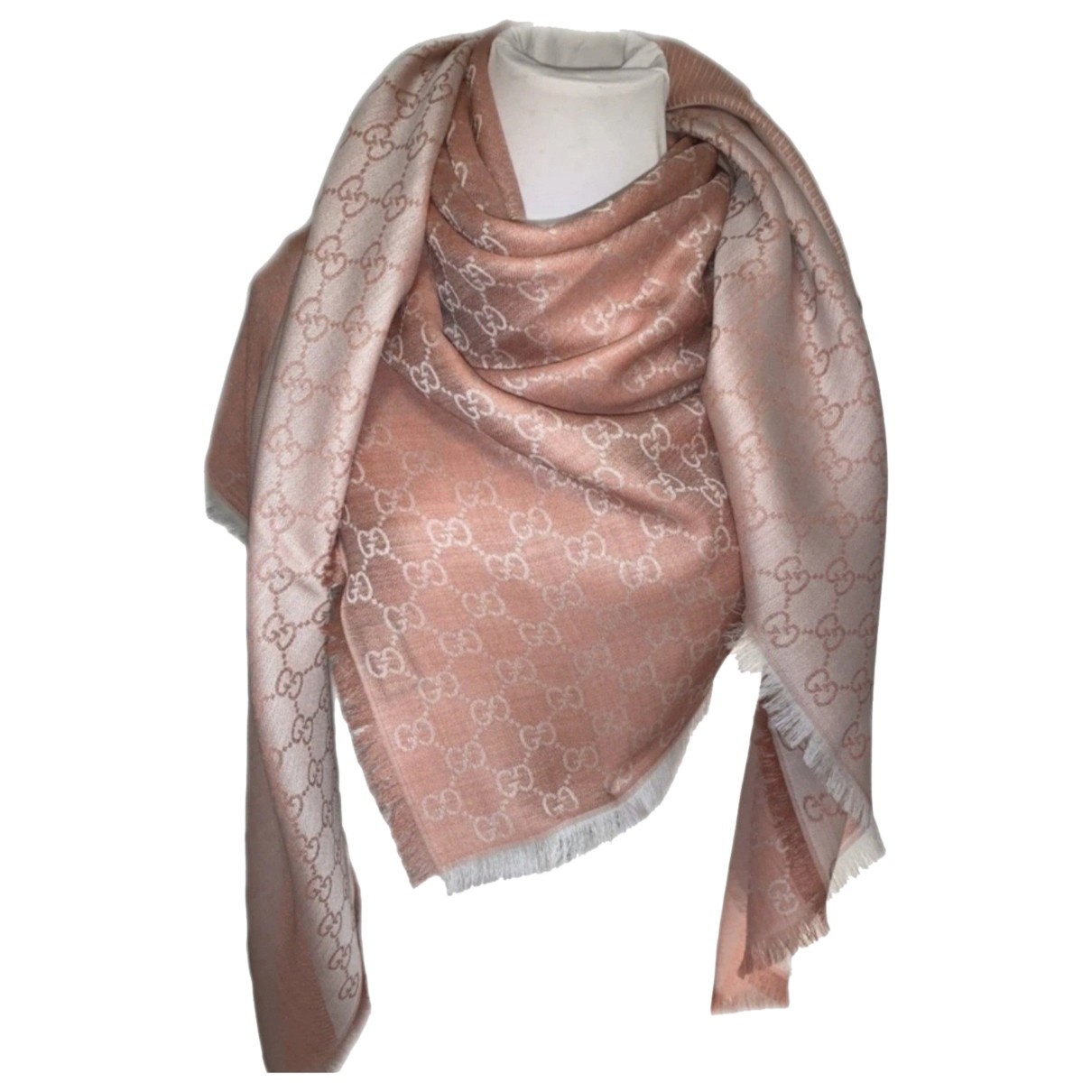 Gucci \N Pink Wool scarf for Women \N