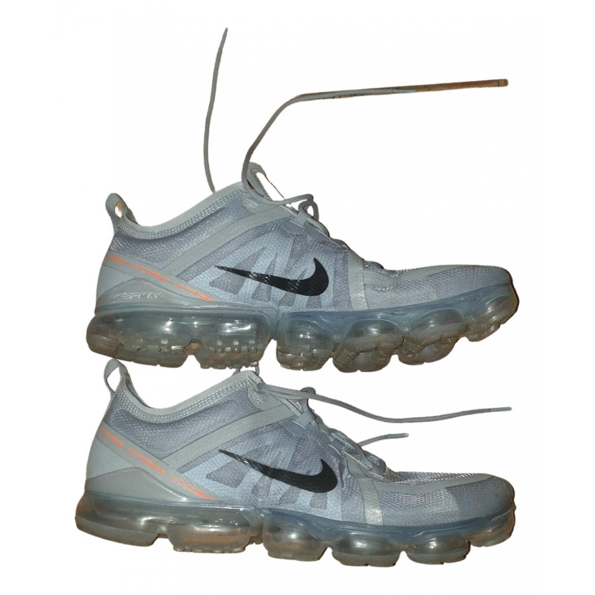 Nike Air VaporMax Grey Cloth Trainers for Men 13 UK