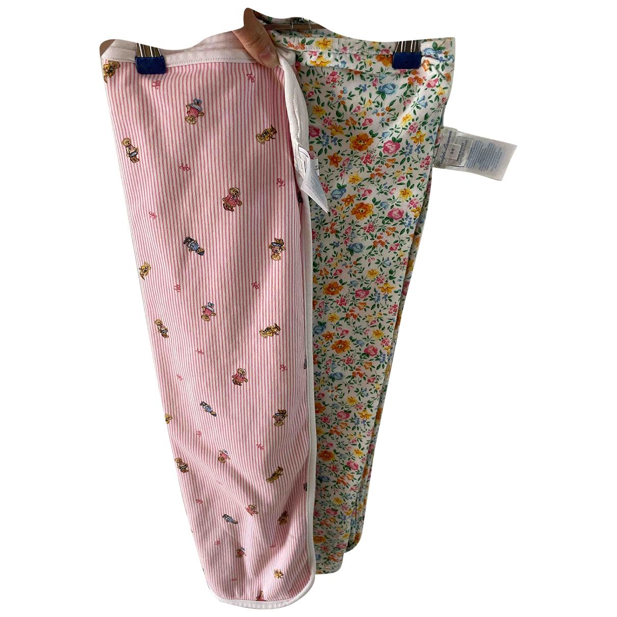 Ralph Lauren - Linge de maison   pour lifestyle en coton - rose