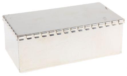 Perancea Tin Plated Steel PCB Enclosure, 35 x 50 x 100mm
