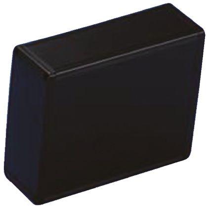 Takachi Electric Industrial KC, Black Aluminium Enclosure, 200 x 125 x 50mm