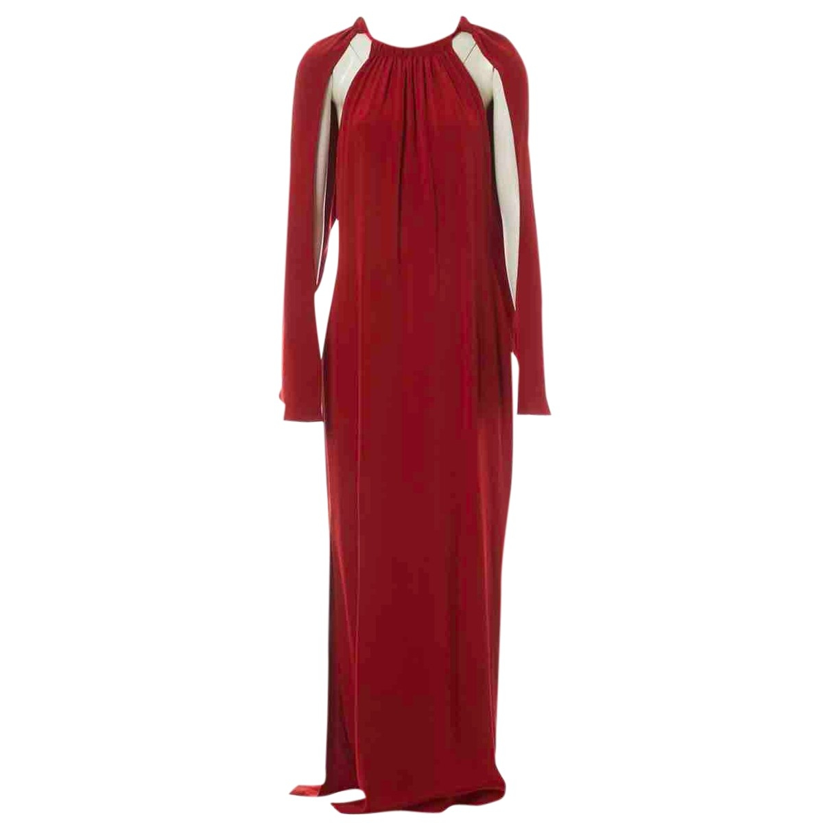 Tom Ford - Robe   pour femme en soie - rouge