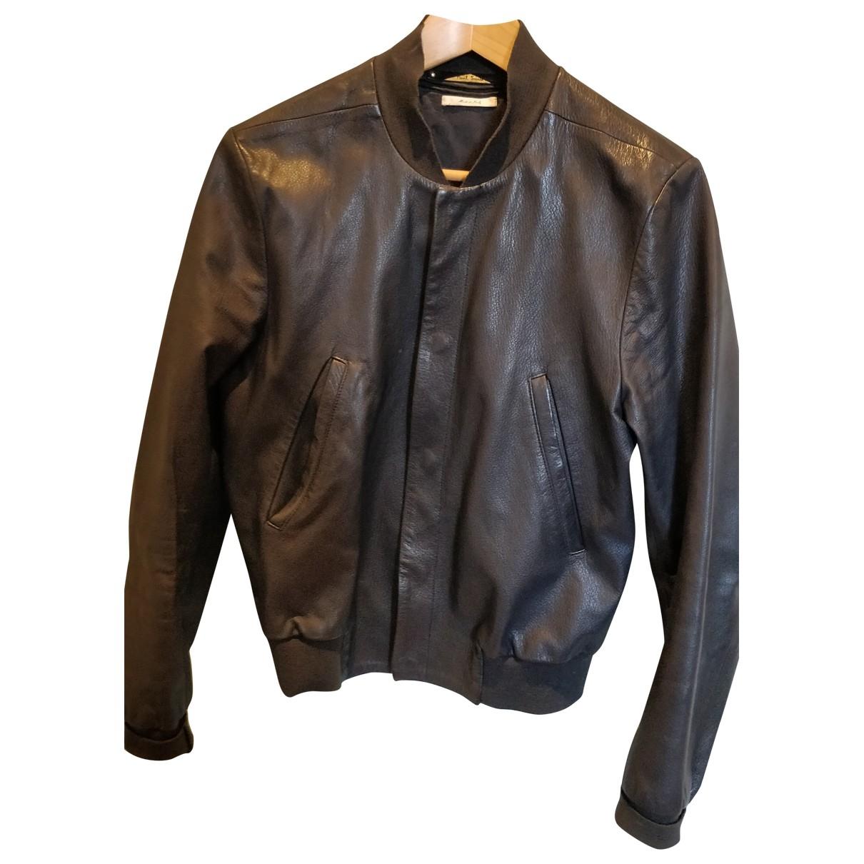 Paul Smith \N Blue Leather coat  for Men S International