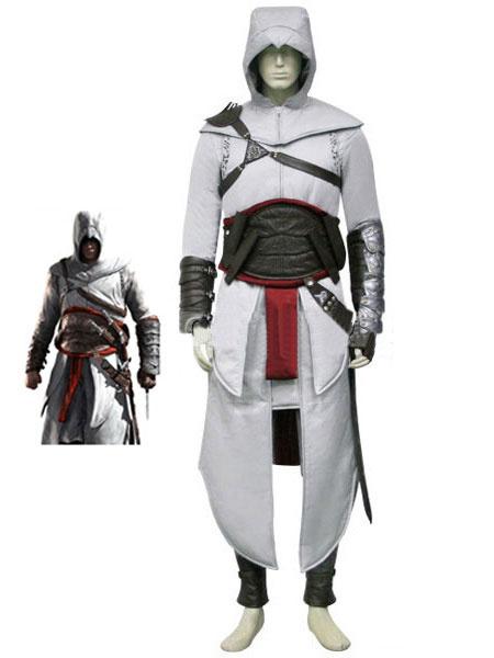 Milanoo Inspired By Assassin's Creed Altair Altaïr Ibn-La'Ahad Halloween Cosplay Costume Halloween