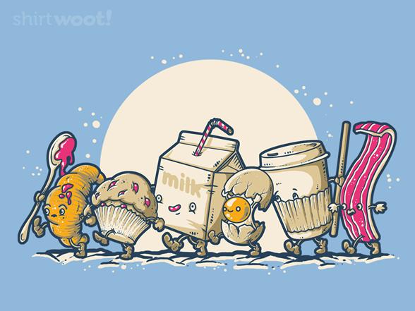 Fellowship Of The Mornings T Shirt