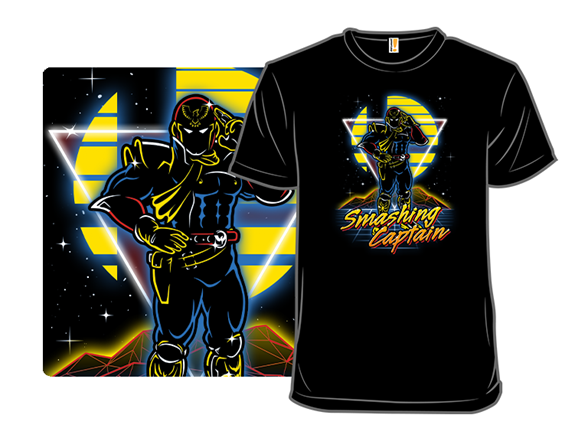 Retro Smashing Captain T Shirt