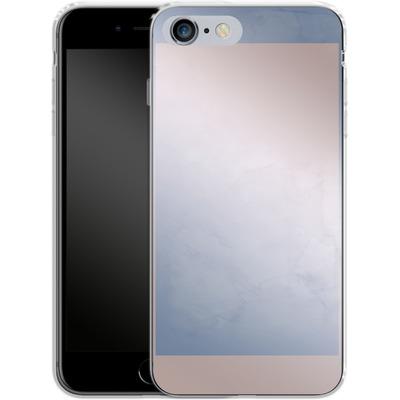 Apple iPhone 6s Plus Silikon Handyhuelle - Serenity Rose Quartz Geometry von Emanuela Carratoni