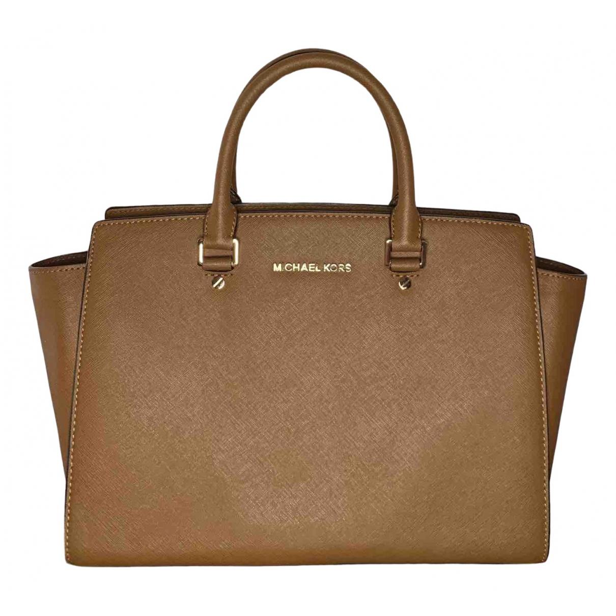 Michael Kors \N Brown Leather handbag for Women \N