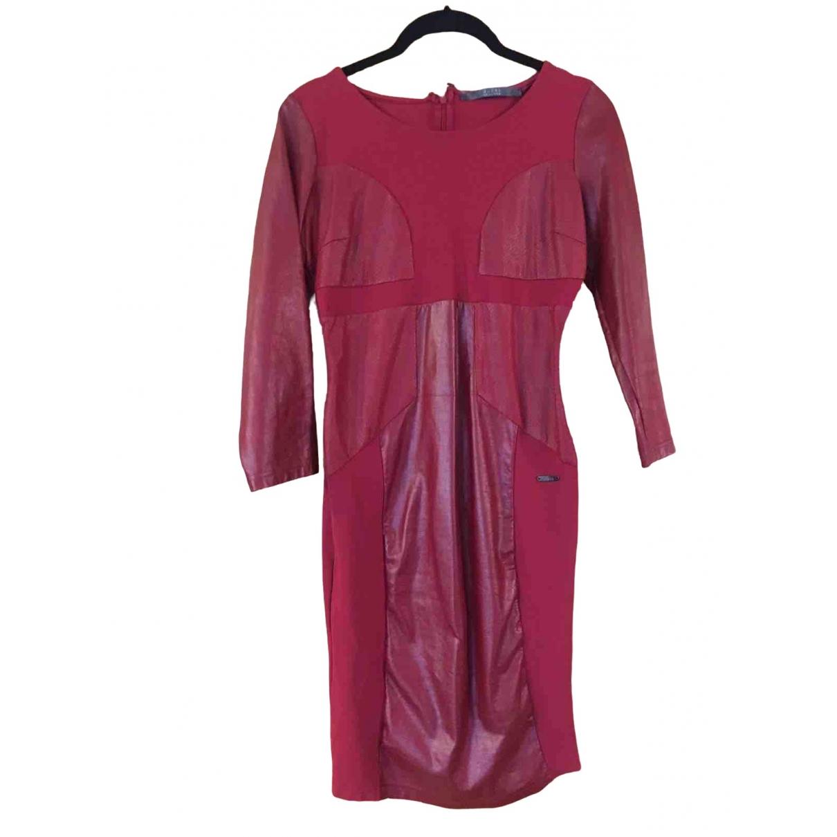 Guess \N Kleid in  Bordeauxrot Polyester
