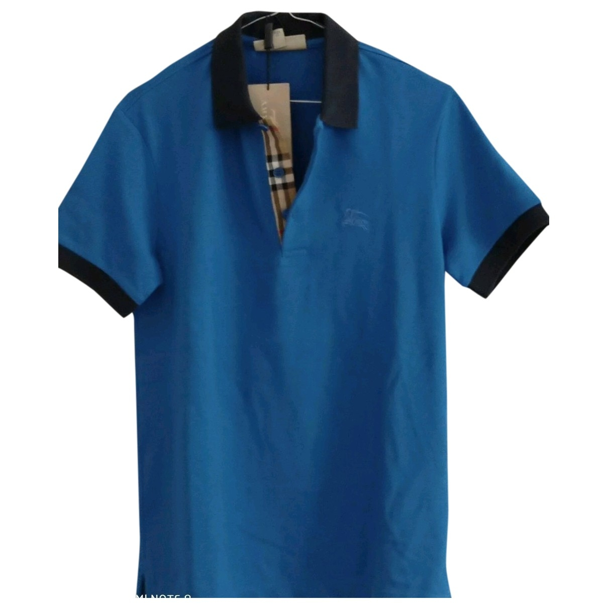 Burberry \N Blue Cotton Polo shirts for Men S International