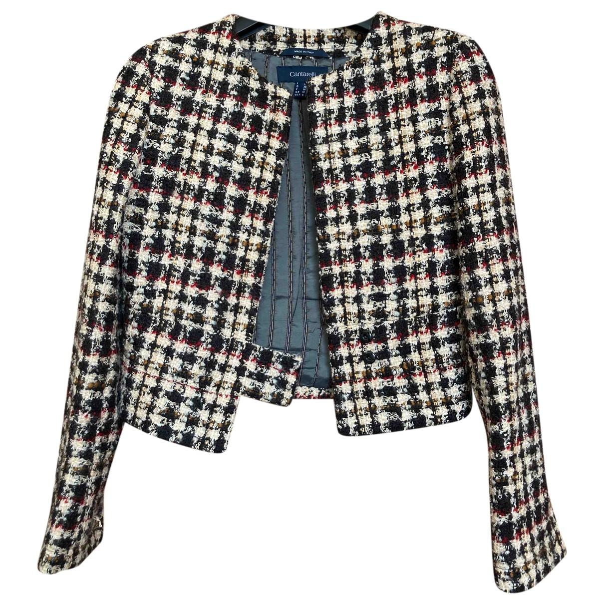 Cantarelli - Veste   pour femme en laine - multicolore