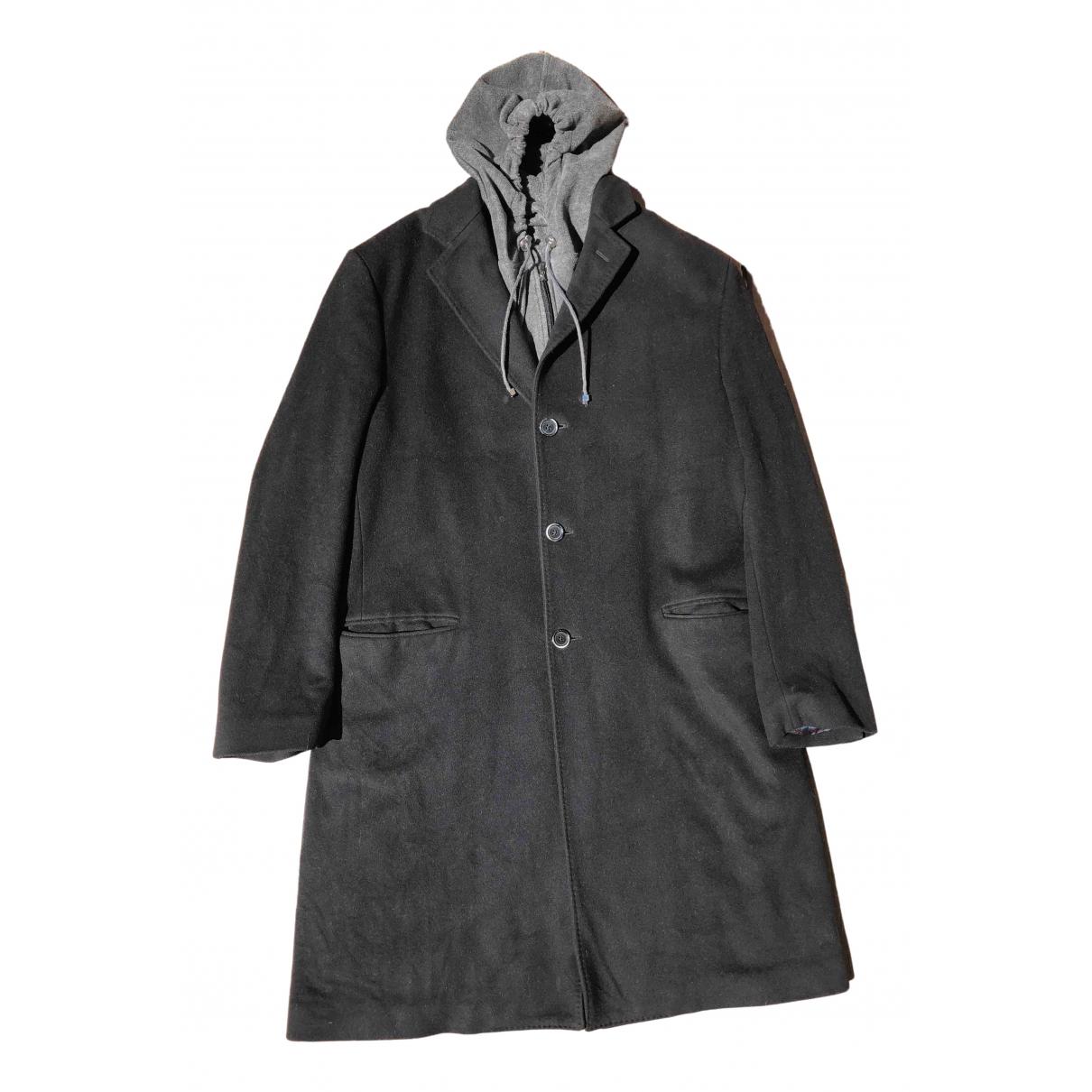 Versace \N Maentel in  Schwarz Wolle