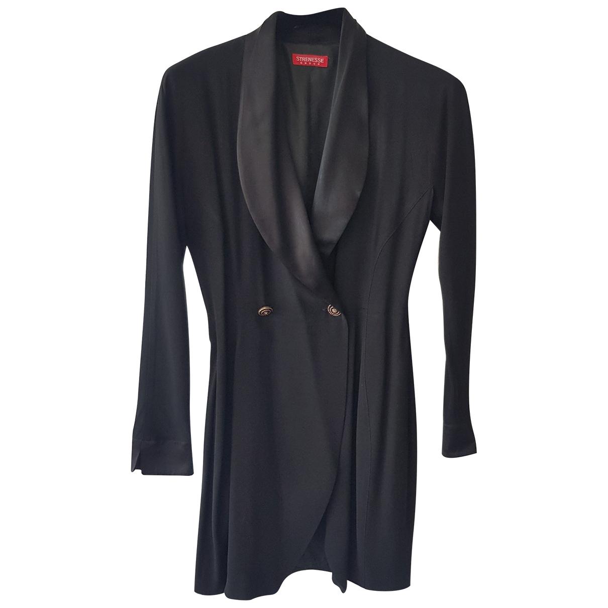 Strenesse \N Kleid in  Schwarz Synthetik