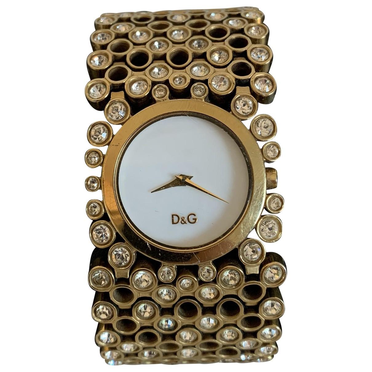 Dolce & Gabbana \N Uhr in  Gold Stahl