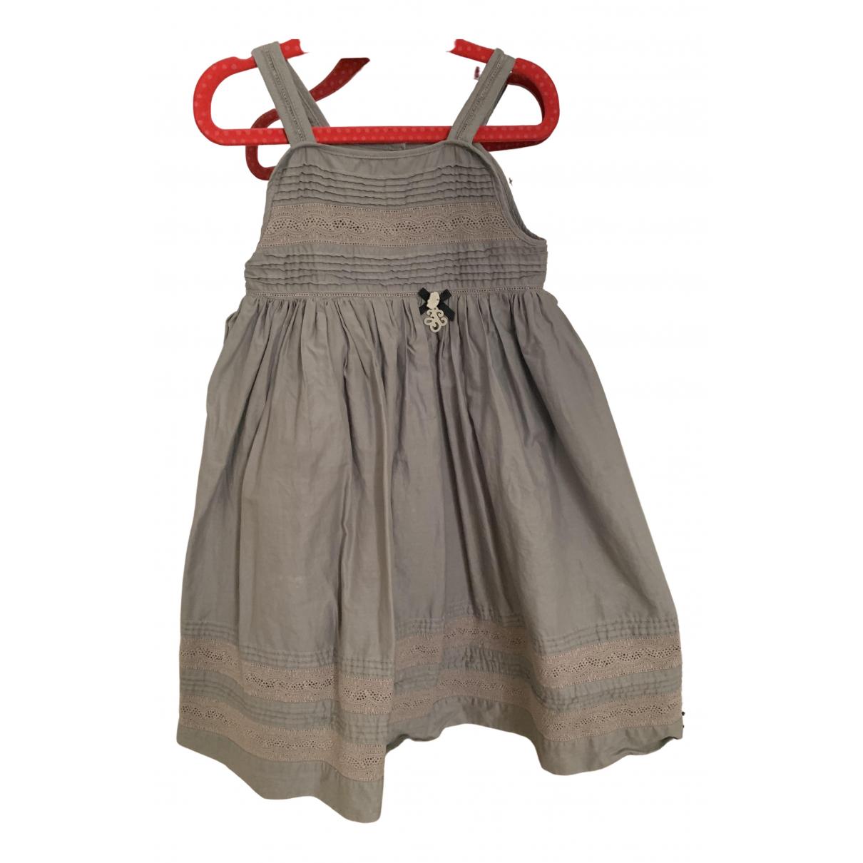 Tartine Et Chocolat - Robe    pour enfant en coton - gris