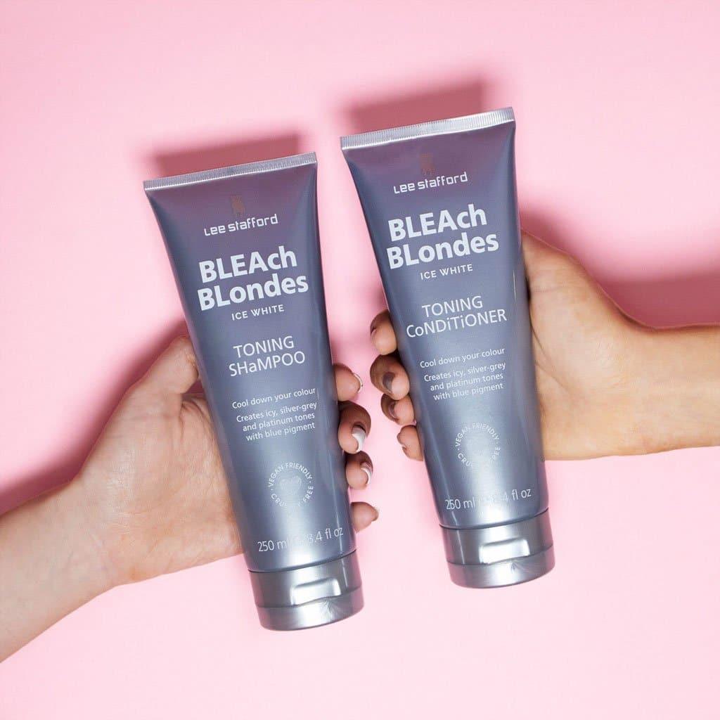 Bleach Blondes Ice White Toning Shampoo