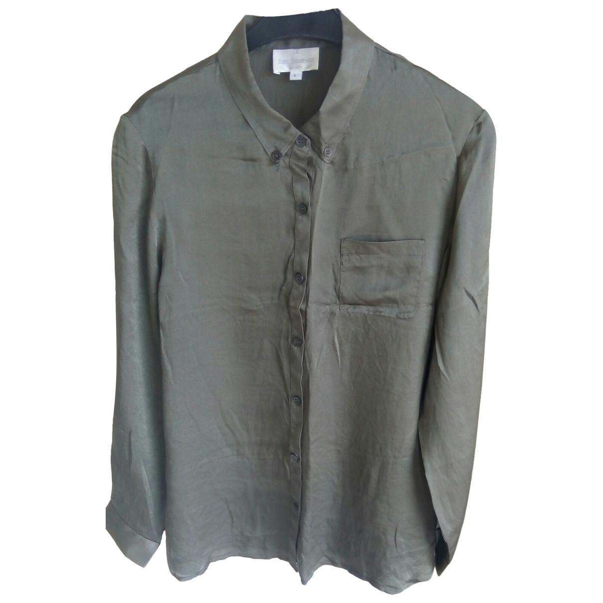 Eric Bompard \N Khaki Silk  top for Women L International