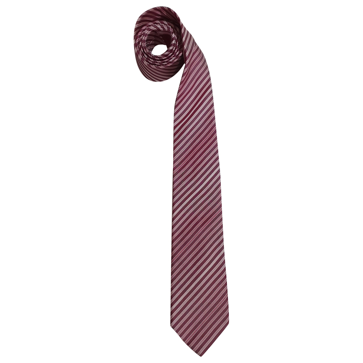 Boss - Cravates   pour homme en soie - rose