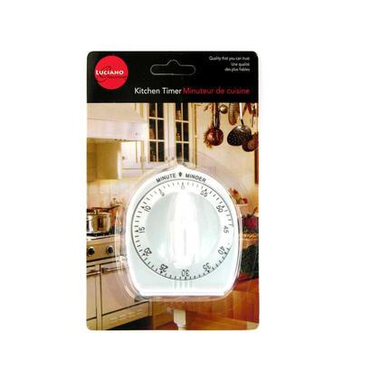 Kitchen Mechanical Timer 60 Minutes 1Pc
