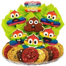 Poop Emoji Birthday | Birthday Cookies