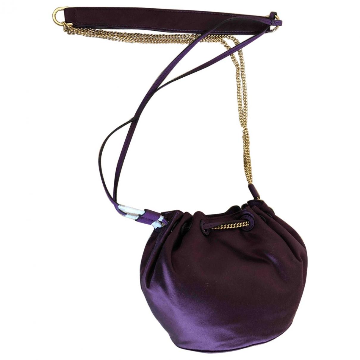 Diane Von Furstenberg - Sac a main   pour femme en soie - violet
