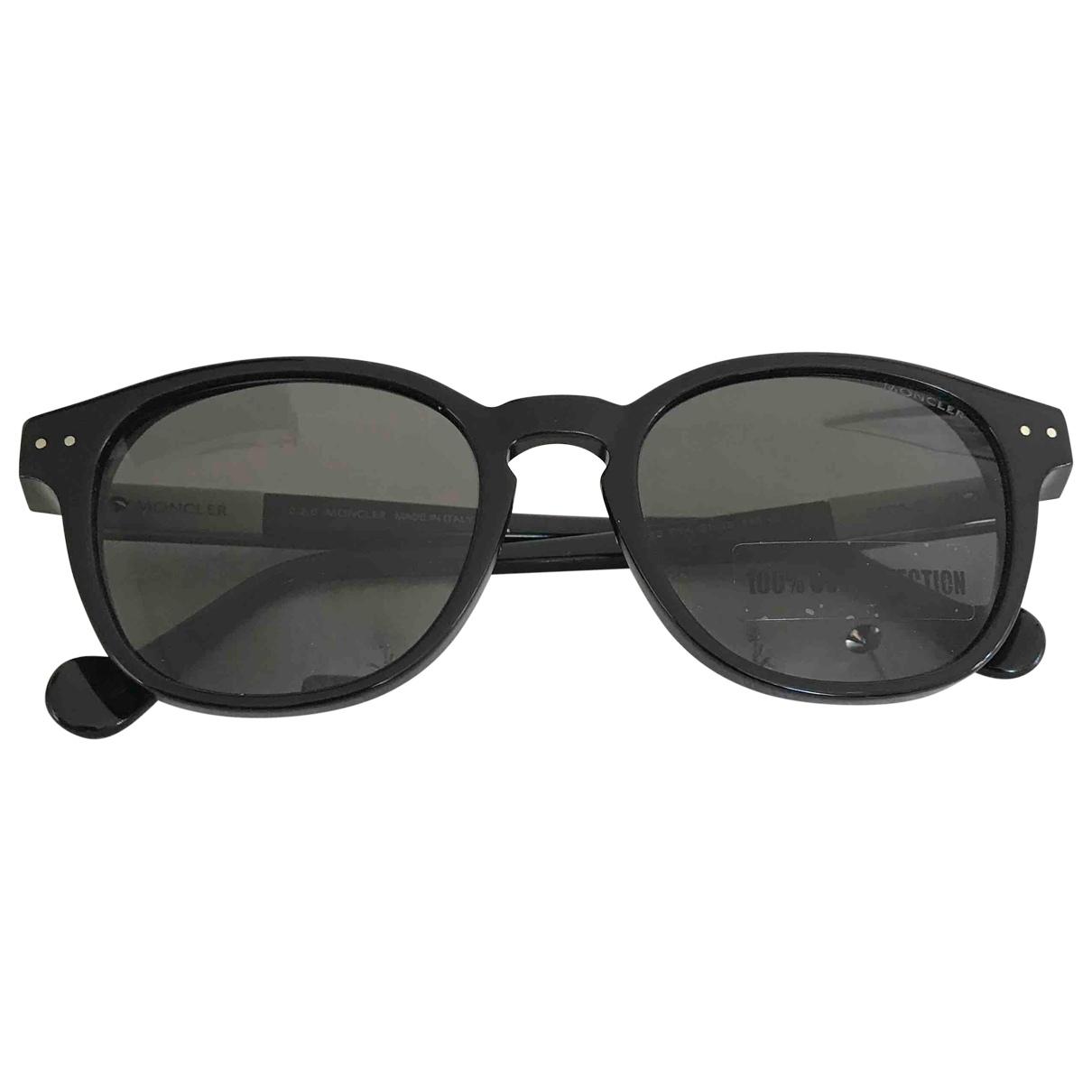 Moncler \N Black Sunglasses for Men \N