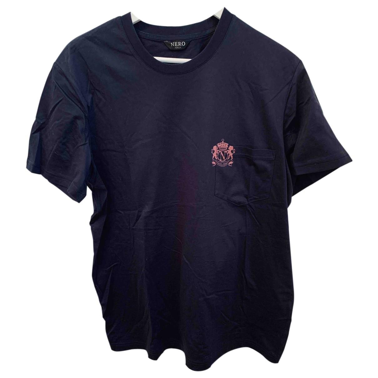 La Perla \N Navy Cotton T-shirts for Men L International